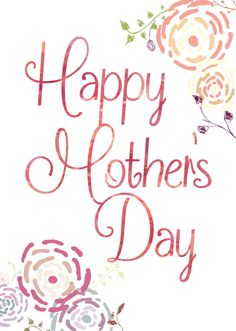 Floral Mother's Day Cards - Designs By Miss Mandee