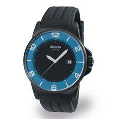 3535-13 Mens Boccia id. Titanium Watch