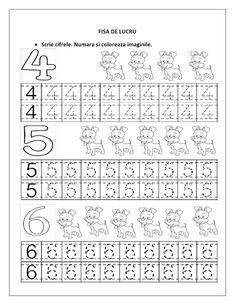 From 1 to 9 Line Studies Page - Preschool Children Akctivitiys Preschool Number Worksheets, Preschool Writing, Numbers Preschool, Writing Worksheets, Math Numbers, Preschool Learning, Worksheets For Kids, Kindergarten Worksheets, In Kindergarten