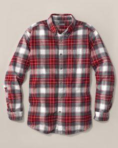 Relaxed Fit Eddie's Favorite Flannel Shirt - Plaid | Eddie Bauer