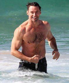 How.......how......is he real?? Lol #HughJackman
