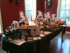 Open House Table Display