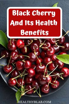 We all love to eat cherries because of their sweet and juicy flavor. But do you know the health benefits of cherries? Apart from the really good taste, cherries also offer good nutrients which are essential for your health. Black Cherry Health Benefits, Health Benefits Of Cherries, Black Cherry Vitamins, Natural Home Remedies, Herbal Remedies, Benefits Of Vitamin A, Healthy Tips, Healthy Food, How To Lose Weight Fast