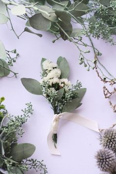 No More Girly Flowers! 20 Refreshing Boutonnieres Both You and Your Groom Will Love! Winter Wedding Flowers, Flower Bouquet Wedding, Floral Wedding, Wildflowers Wedding, Purple Wedding, Summer Wedding, Inexpensive Wedding Flowers, Wedding Fun, Wedding Suits