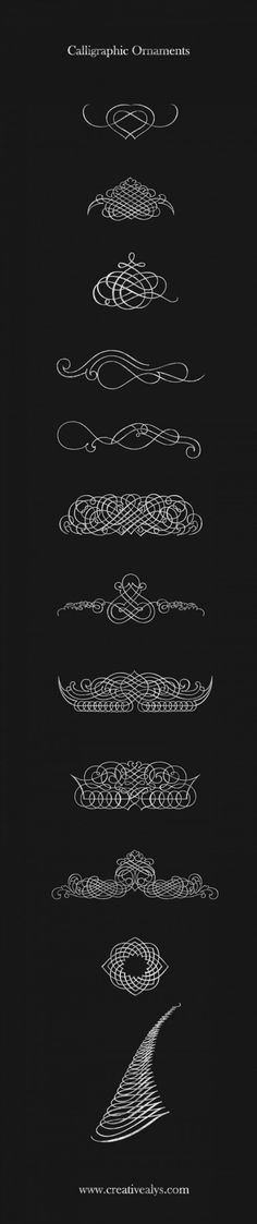 calligraphic-ornaments-CreativeAlys