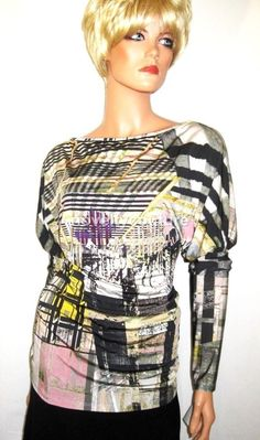 $245 New SAVE THE QUEEN Cocktail Top T42-44 / UK 14-16 / XL (extra-large) #SavetheQueen #KnitTop #EveningOccasion  #NoveltyCouture #SaveTheQueen #JohnHardy #VivienneWestwood  #EmilioPucci #ScottKay #BarbaraBixby #StephenDweck #JudithRipka