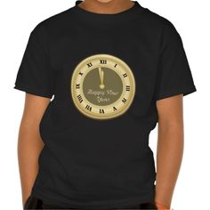 New Years Eve Holiday Kids t-shirt
