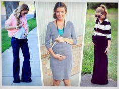 5 tendencias de moda para mujeres embarazadas