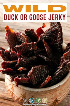 Jerkey Recipes, Meat Recipes, Wild Duck Recipes, Goose Recipes, Curing Salt, Cooking For Beginners, Best Comfort Food, Dehydrator Recipes
