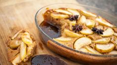 Apple and star anise self-saucing pudding | Recipes | Yours