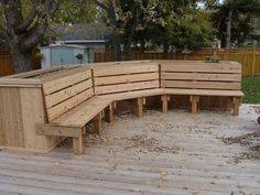 Image detail for -Deck Planter Bench Plans | Woodworking Project Plans