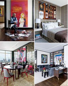 Giancarlo Giammetti's Manhattan Penthouse.