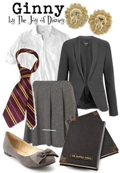 Outfit inspired by Ginny Weasley from the Harry Potter movies!