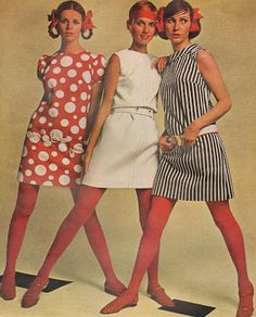 1960s Dresses ... Reminds me of my mom's dresses