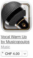 Stimmbildung … by Stefan Gisler | posted in: 0. Instrumente, 0f. Gesang, 2. Musik lernen, Apple (iOS), Apps, Gehörbildung, Gesang, Google (Android) | 0