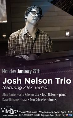 Our friend Josh Nelson in Studio City tonight!
