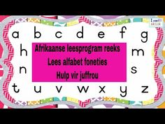 (196) Ek kan - Afrikaanse leesprogram reeks - Lees die alfabet foneties - Hulp vir juffrou - YouTube Reading Is Thinking, Kids Poems, Basic Math, Afrikaans, Alphabet, The Creator, Words, Homework, Youtube