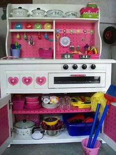 Kinder keukentje gepimpt