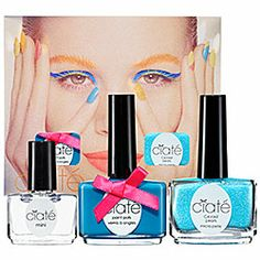 Ciaté - Corrupted Neons Manicure Set in Foam Party  #sephora