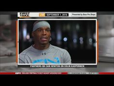 Cam Newton shares thoughts on Colin Kaepernick protest - http://www.truesportsfan.com/cam-newton-shares-thoughts-on-colin-kaepernick-protest/