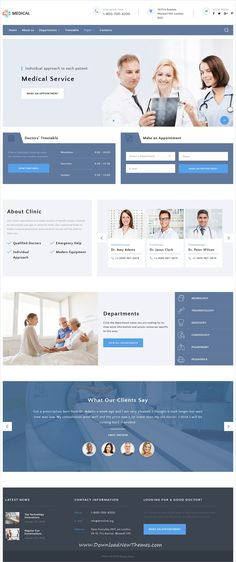 Private is a clean and modern design responsive HTML5 #bootstrap #theme for #medical centers website to download & live preview click on image or Visit #webdesign