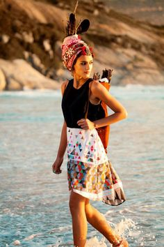 """Lalesso fashion label was formed by Kenyan co-designers Olivia Kennaway and Alice Heusser after a holiday to Lamu Island off the north coast of Kenya - Funky Fashions - African Designers & Models - Funk Gumbo Radio: http://www.live365.com/stations/sirhobson and """"Like"""" us at: https://www.facebook.com/FUNKGUMBORADIO"""