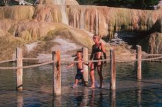 Pagosa Springs Colorado - best kept secret place to steal away and recover from stress and modern living. Sitting in the natural sulfur hot springs carved out of rock rain or shine and just, healing. Aahh.