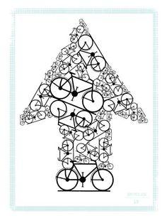 Artcrank Poster - Prague to Amsterdam - Peter Esveld 2010 Bike Poster, Poster S, Cycling Art, Cycling Bikes, Cycling Jerseys, Bicycle Quotes, Cycling Quotes, Bicycle Illustration, Bicycle Print