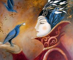 The Queen and Blue Crow by Amanda Clark