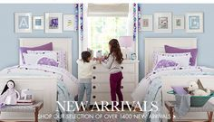 Stella room from Pottery Barn Kids... For Carsyn of course!