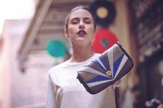 Fierce Le Pandorine clutch, the time to own it is NOW! Fall Winter, Autumn, Urban Chic, City Style, Blue, Women, Fashion, Moda, Fall Season