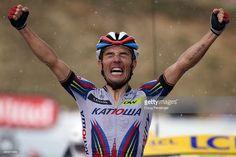 Joaquim Rodríguez (12/5/1979)    Professional team(s): 2001–2003 ONCE–Eroski, 2004–2005Saunier Duval–Prodir, 2006–2009Caisse d'Epargne–Illes Balears, 2010– (currently)Team Katusha    Doug Pensiger http://www.dougpensinger.com/