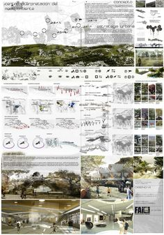 (architecture projects) [group] most interesting photos on FlickeFlu Architecture Panel, Landscape Architecture Design, Architecture Graphics, Plate Presentation, Project Presentation, Presentation Board Design, Architecture Presentation Board, Architectural Presentation, Poster Layout