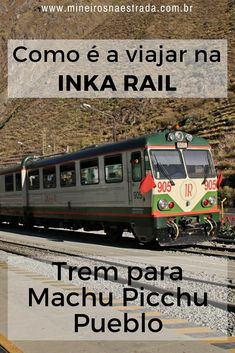 Veja como é a viagem de trem para Machu Picchu Pueblo (Águas Calientes), com a companhia Inca Rail. #mineirosnaestrada #peru #machupicchu
