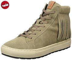 Damen D Myria C Hohe Sneaker, Beige (Taupe), 37 EU Geox