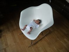 Rocking baby Eames Chair