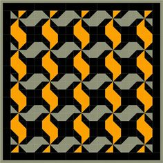 Free quilt pattern Friday! Tire tread ~ A Little Crispy