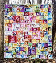 Who doesn't have thousands of scraps that would be great in this quilt?!