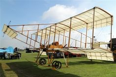 The Bristol Boxkite on static display at Old Warden Aerodrome. Shuttleworth Collection.