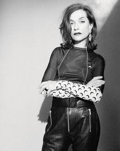 Isabelle Huppert for Dazed mag.