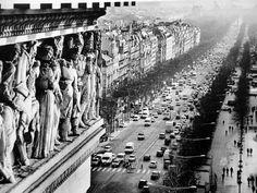 Champ Elysees....... Arc de Triomphe