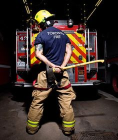 I love firemen so much. Lately I've been seeing crazy handsome buff ones!