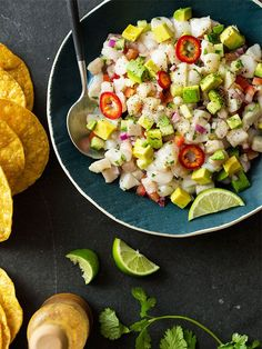 We're Shook: This Tangy Ceviche Recipe Is a Game Changer via @MyDomaine