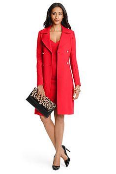 DVF Mirabella Wool Coat