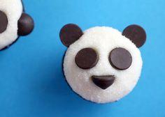 Panda cupcakes .. so adorable.
