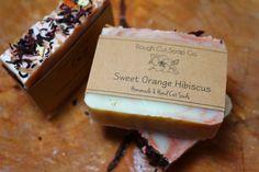 Sweet Orange Hibiscus Cold Process Soap