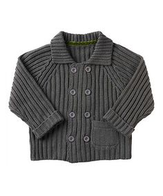 This Dark Gray Cardigan - Infant is perfect! #zulilyfinds