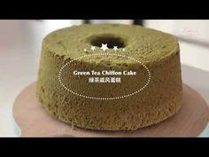 Green Tea Chiffon Cake Recipe, Chiffon Recipe, Orange Chiffon Cake, Green Tea Cheesecake, Cheesecake Cupcakes, Cheesecake Recipes, Tea Cakes, Cupcake Cakes, Easy Eat