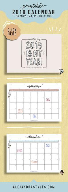 Free Printable Minimalist Calendar 2018 Blogging Is Our Jam