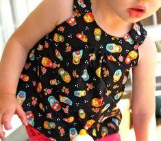 Haut Toddler Snappy & Patron Gratuit à télécharger | Bébé prudente